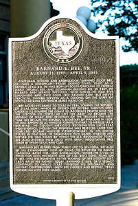Texas Historical Commission Marker:  Barnard E. Bee, Sr.