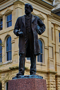 Statue of Peter Hansborough Bell