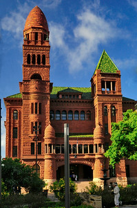 Front Facade Bexar County Courthouse
