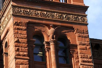 Exterior Details:  Carved Eagle