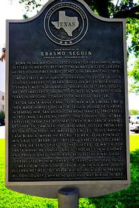 Texas Historical Commission Marker:  Erasmo Seguin