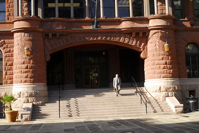 Arched Entrance to the Courthouse