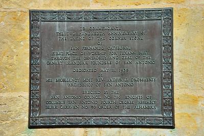 San Fernando Cathedral Marker
