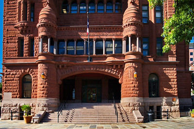 Main Entrance to the Courthouse