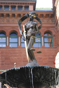 Lady Justice Fountain