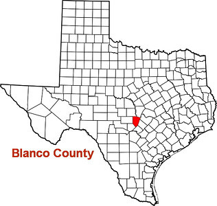 Where is Blanco County?