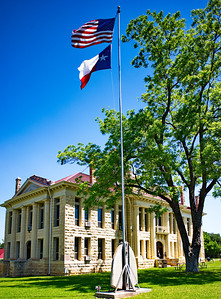 Flag Pole and Courthouse from the Corner