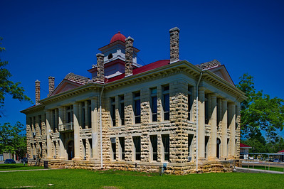 Blanco County Courthouse;  Johnson City, Texas