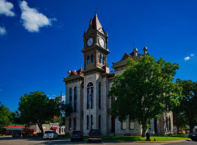 Bosque County Courthouse:  Meridan, Texas