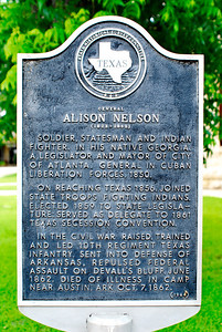 Texas Historical Commission Marker:  Alison Nelson