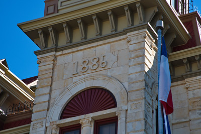 1886 Date on Courthouse Facade