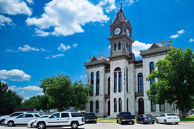 Bosque County Courthouse, Meridan, Texas