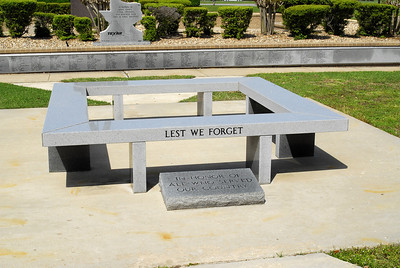 Bowie County Veterans Memorial Bench
