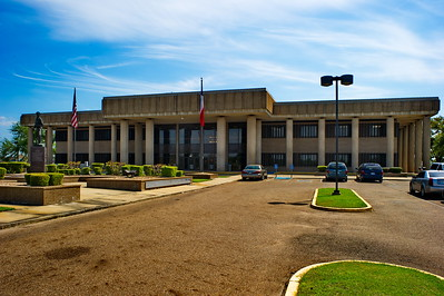Front Facade of the Bowie County Courthouse