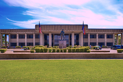 Bowie County Courthouse;  New Boston, Texas