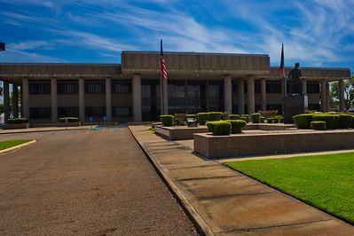 Front Facade Bowie County Courthouse