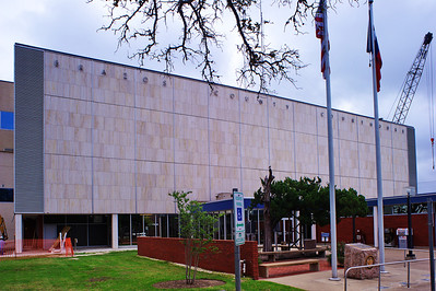 Front Facade of the Courthouse