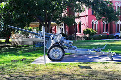 Artillery Gun on the Courthouse Grounds