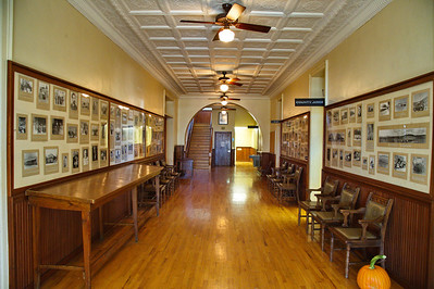 1st Floor Interior Hallway with Old Photographs