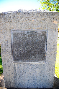 Historical Marker Honoring Pioneers of Brewster County