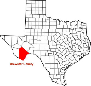 Where is Brewster County?