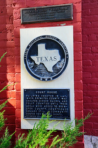 Texas Historical Commission Marker:  Brewster County Courthouse