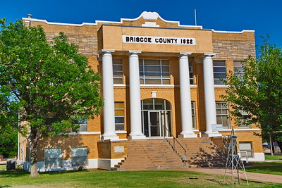 Briscoe County Courthouse:  Silverton, Texas