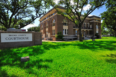 Courthouse Sign and Lawn