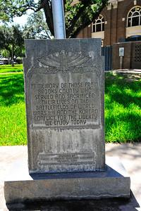Veterans Memorial for WW1, WW2, Korea