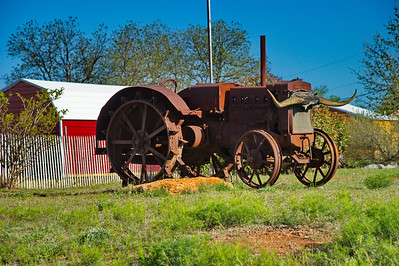 Old Tractor in Brownwood