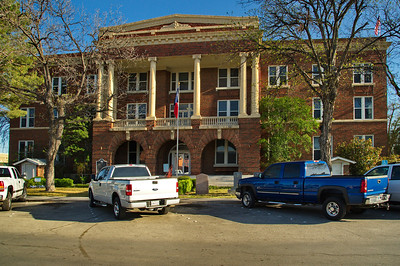 Brown County Courthouse:  Brownwood, Texas