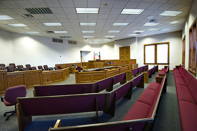 Brown County Courthouse Courtroom