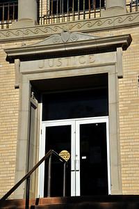 Justice Above the Door