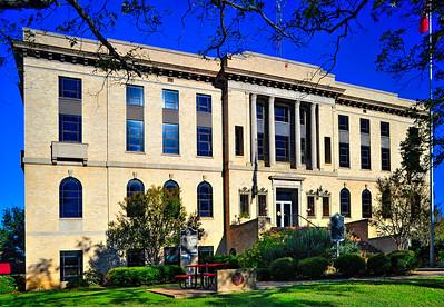 Burleson County Courthouse:  Caldwell, Texas