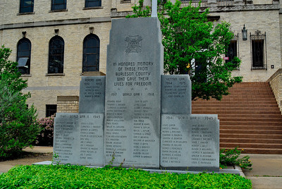 Veterans Memorial at the Courthouse