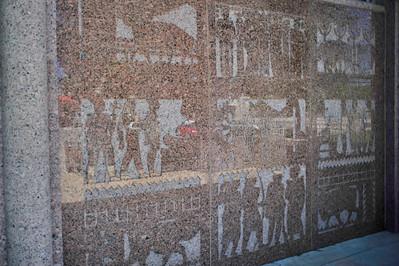 Bas-relief of the Burnet County Ecomomy