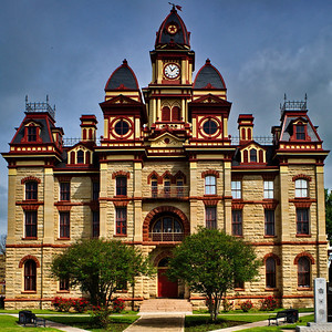 Caldwell County Courthouse, Lockhart, TX