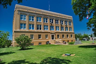 Callahan County Courthouse:  Baird, Texas