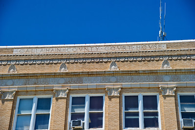 Exterior Details:  County Name on Building