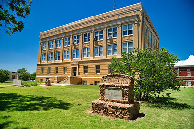 Callahan County Courthouse Front View