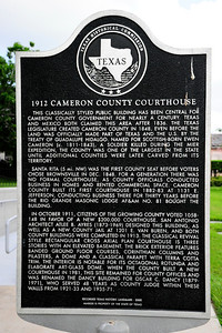 Texas Historical Commission Marker:  Cameron County Courthouse