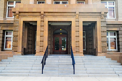 Courthouse Front Entrance