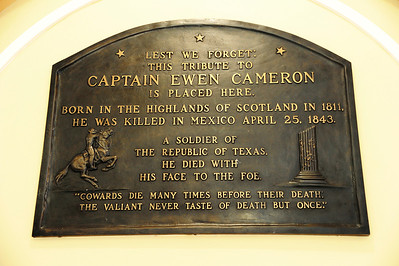 Historical Plaque of Cameron