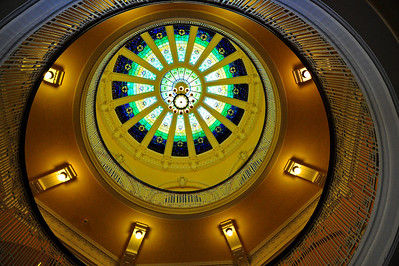 Courthouse Dome & Stain Glass Windown