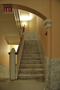 Stairwell on 1st floor