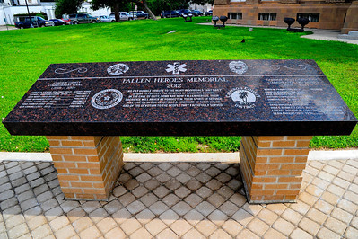 Veterans Memorial Bench