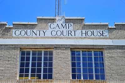 Name and Date on Front of Courthouse