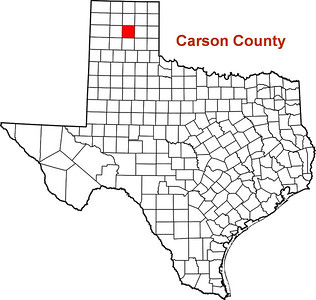 Where is Carson County?