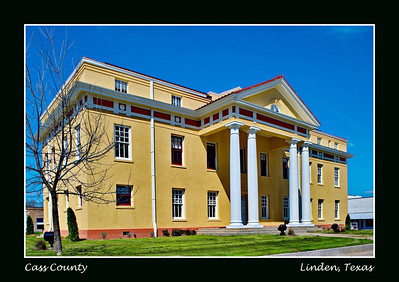 Cass County Courthouse, Linden, Texas
