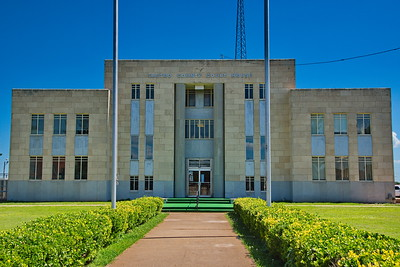 Castro County Courthouse:  Dimmitt, Texas